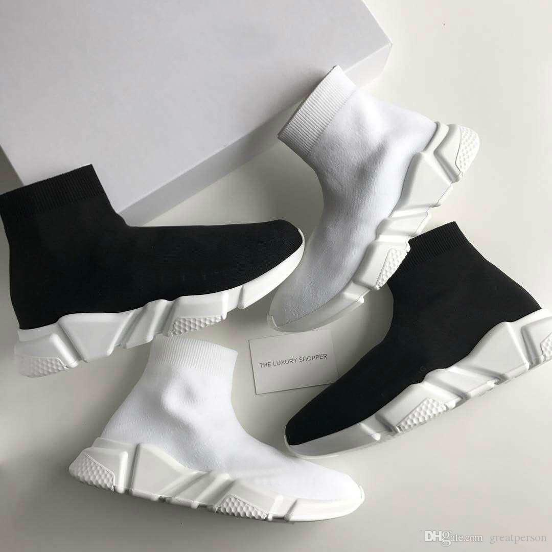 Free Original quality+With box zoom slip-on Speed Trainer Mercurial XI Black white High help Socks shoes Casual shoes men and women official cheap price the cheapest sale online zcjn4nWBYI