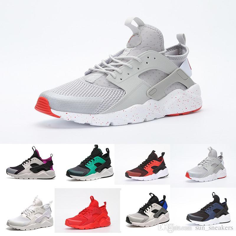 san francisco 429cd 614e3 Großhandel 2018 Nike Air Huarache 4 Basketball shoes Neue Design Huaraches  4 IV Laufschuhe Für Frauen Männer, Leichte Huaraches Turnschuhe Sport Sport  ...