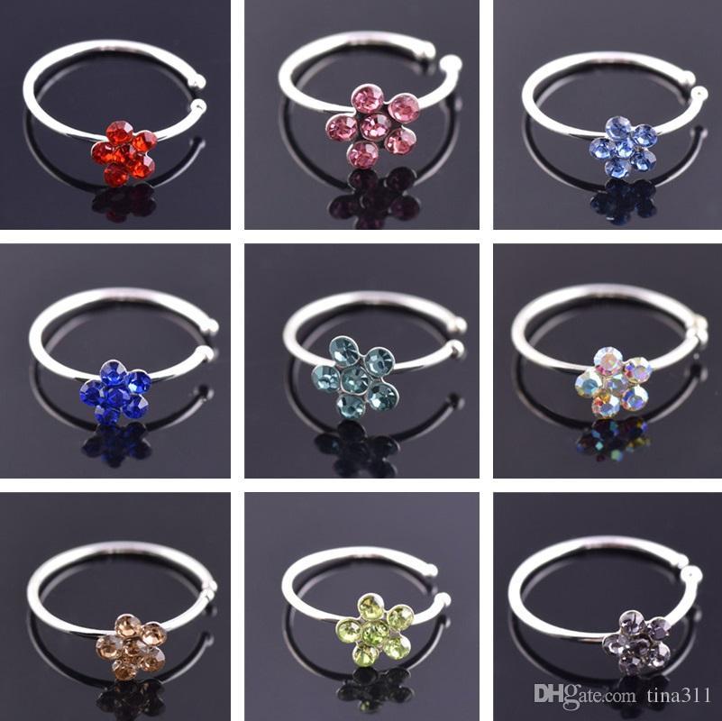 a1803d1599c6 Compre Nuevos Anillos De La Nariz Joyería Piercing Del Cuerpo ...
