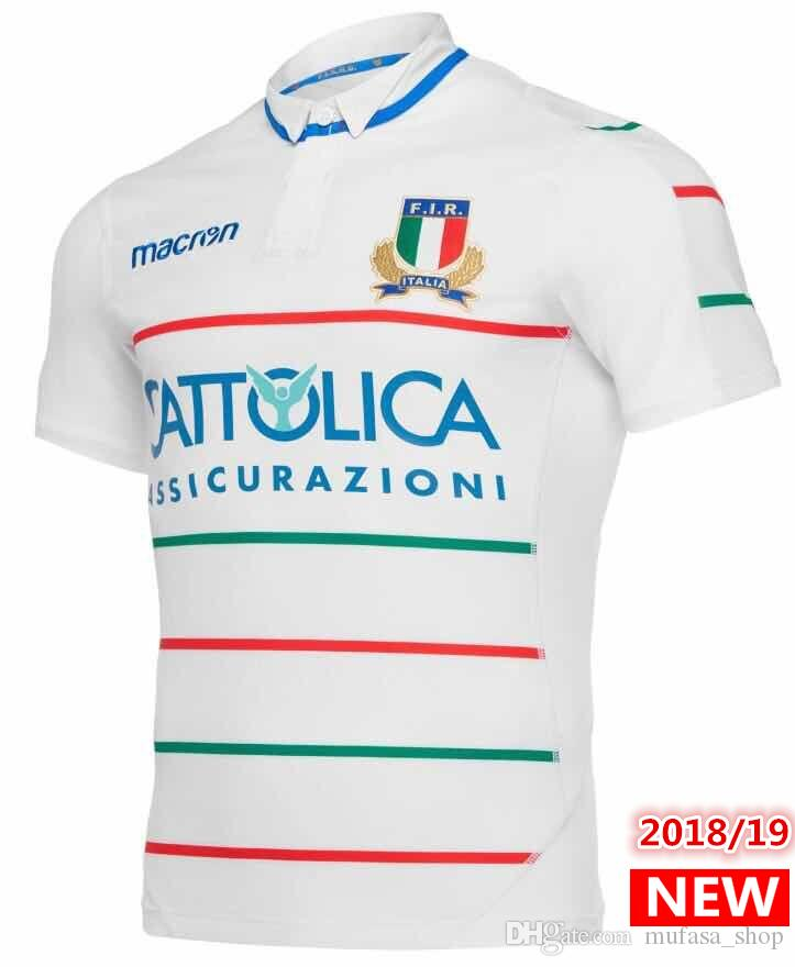 sports shoes c40bf 358b0 Best Quality 2019 new ITALIA Rugby Jerseys FIR shirt 18 19 ITALIA national  team Italy League jersey S-3XL free shipping
