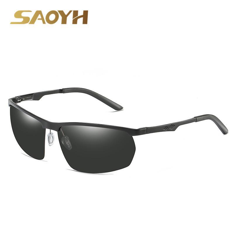 0066c3b2739a SAOYH Al-Mg Polarized Sunglasses Unisex Men  Women Sun Glasses Outdoor  Driving Goggle Eyewares 6509 Polarization Oculos Feminino Sunglasses Cheap  Sunglasses ...
