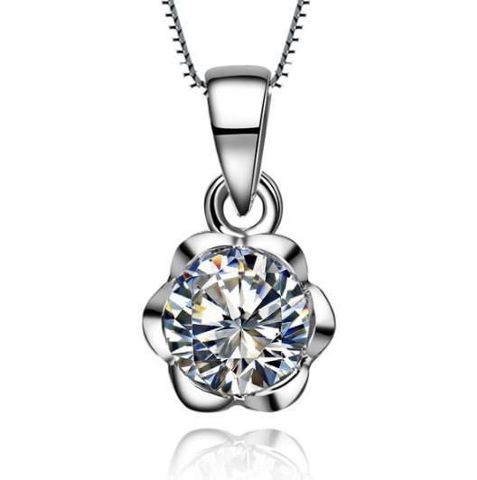eb83550ba903 Compre Estilo De Flor Vintage Diamante Redondo Redondo De 1CT ...
