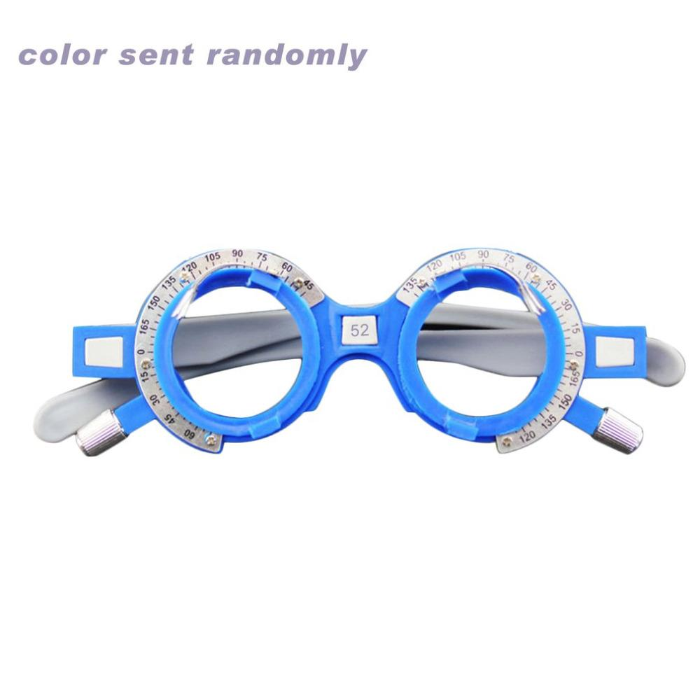 f1a2f286c11 Adjustable Optical Trial Lens Frame 52-70mm PD Eye Optometry ...