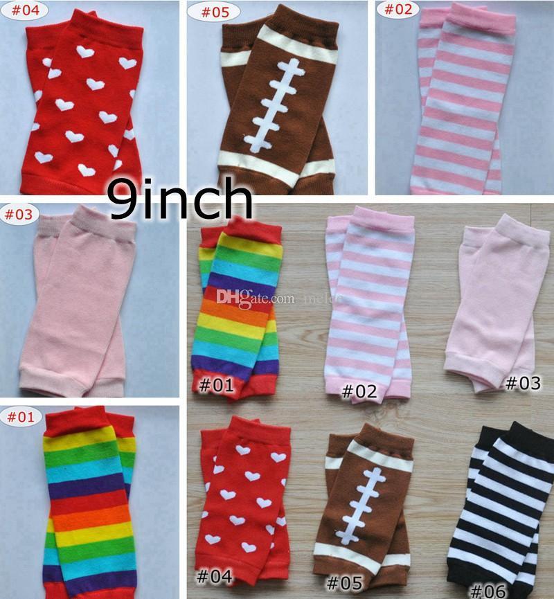 c93ea0d053310 ... Size Leg Warmer Boys Girls Infant Red Heart Football Pink Rainbow  Striped Leggings Leg Warmers 9inch Striped Tube Socks Thigh High Socks From  Melee, ...
