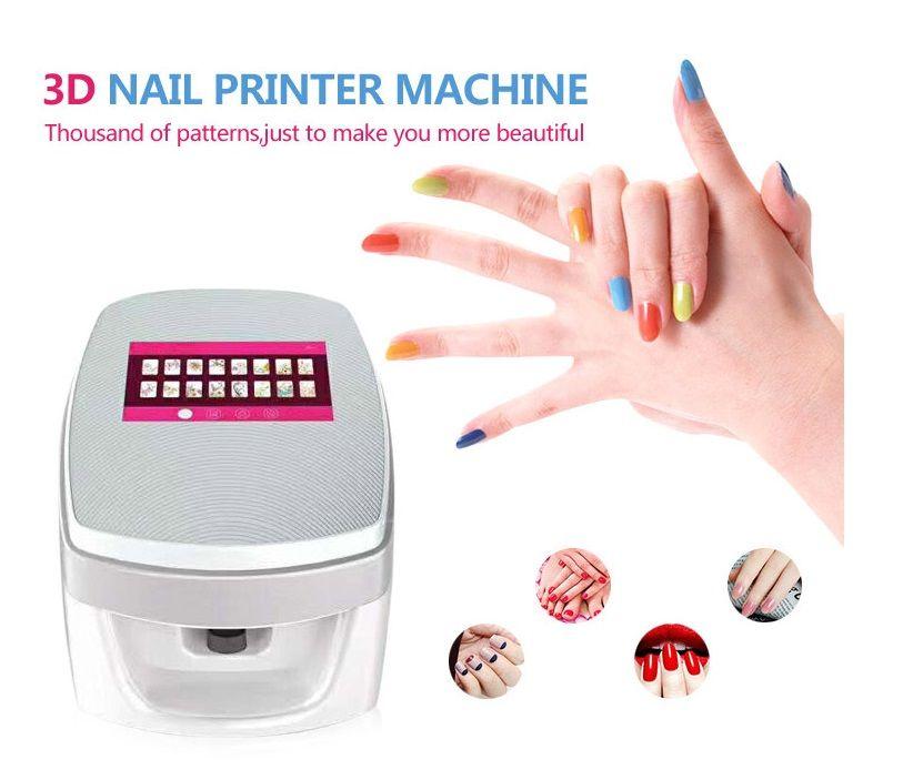 Nail Wraps 2018 Nail Art Machine 3d Digital Nail Art Printer With