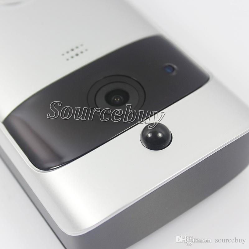 Vidéo sans fil WIFI Interphone Interphone EKEN Vidéo Système de vision nocturne Caméra extérieure avec microphone Haut-parleur HD 720 P