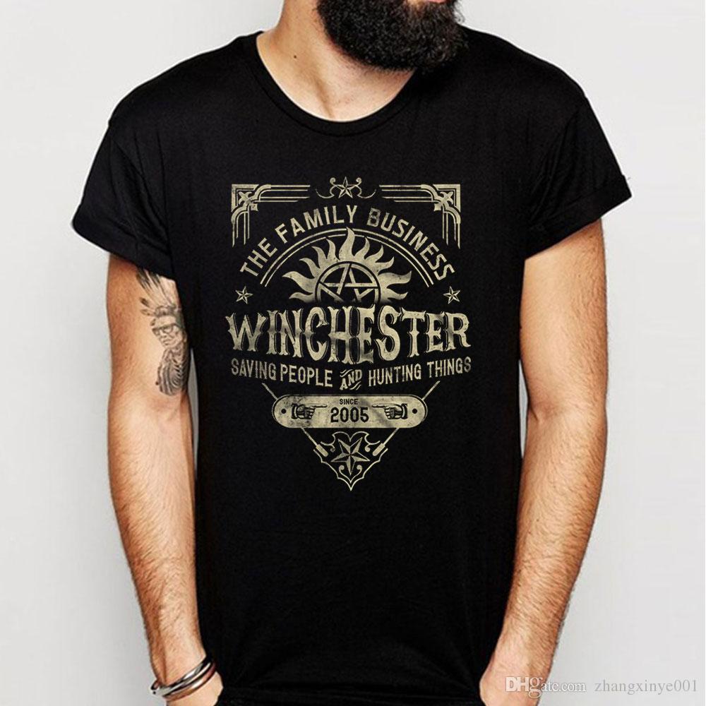 A Very Winchester Business Supernatural Men'S T Shirt
