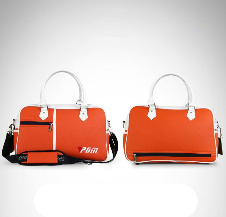 Hochwertiger Golf-Kleidungs-Beutel-wasserdichter PU-Leder-Hochleistungs-haltbarer Golf-Beutel für Schuh-Handtasche Freies Verschiffen