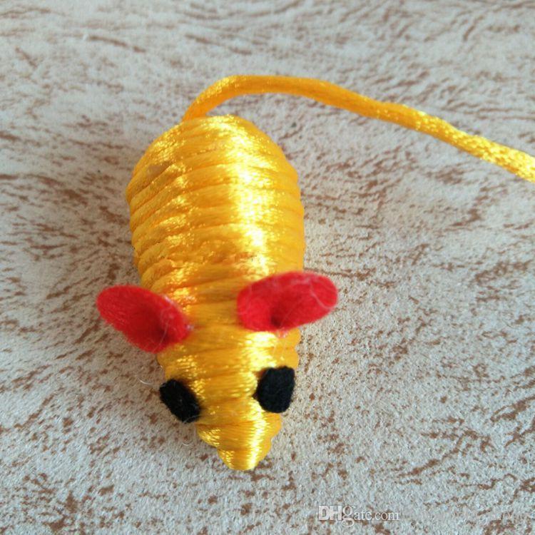 2018 Новый Кот игрушки кошка жевать играть игрушки котенок интерактивные игрушки милый веревка мультфильм мышь для котенка котенок