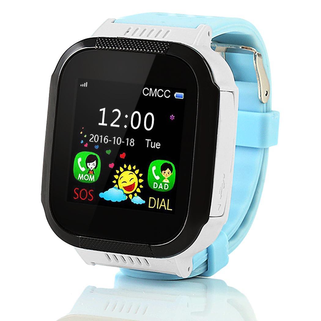 60de94c11d7 Compre Crianças Segurança Relógio Inteligente GSM Localização Múltipla Anti  Perdido Bonito Kid Assista SOS Chamada Lembrete GPS De Gameshome