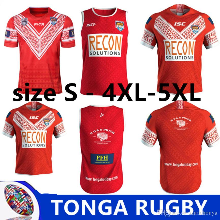 66afd94e0d5 TONGA RUGBY LEAGUE 2019 HOME JERSEY TONGA RUGBY 2018 TRAINING SINGLET TONGA RUGBY  LEAGUE WORLD CUP 2017 HOME JERSEY Size S-XL-3XL-4XL-5XL Australia New ...