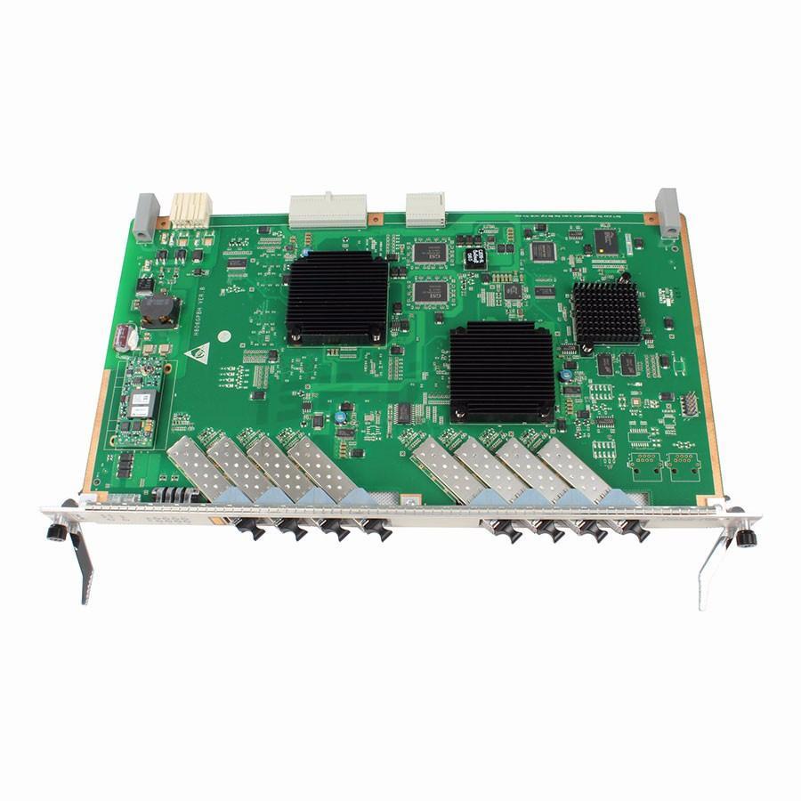 Fiber Optic Equipments Modules Original Hua Wei Ma5680t Gpfd Olt 16 Ports Gpon Card With 16 Sfp C