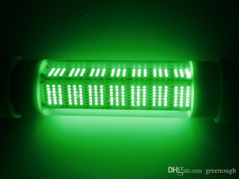 Iscas de pesca Iluminação LED Verde Barco de Pesca Luz LEVOU Luz Marinha Subaquática Noite Lâmpada Ao Ar Livre DC12V DC24V 140 W 200 W 300 W