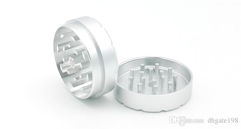 RAW herb Grinders Metal Smoking Grinders for Tobacco Dry Herb grinder Match Glass Hand Pipe Hookahs 47mm*47mm