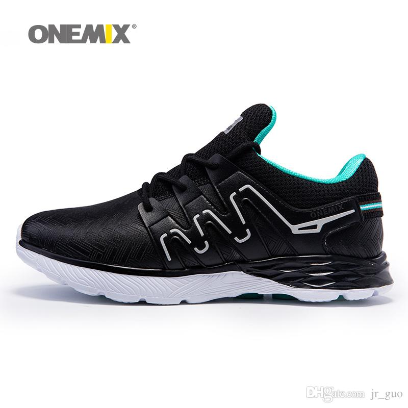 ab9c09bd4614cb 2019 Onemix Man Running Shoes For Men Free Run Athletic Trainers Soft Sole  Fitness Sport Shoe Mens Black Fashion Classic Outdoor Walking Sneakers From  ...