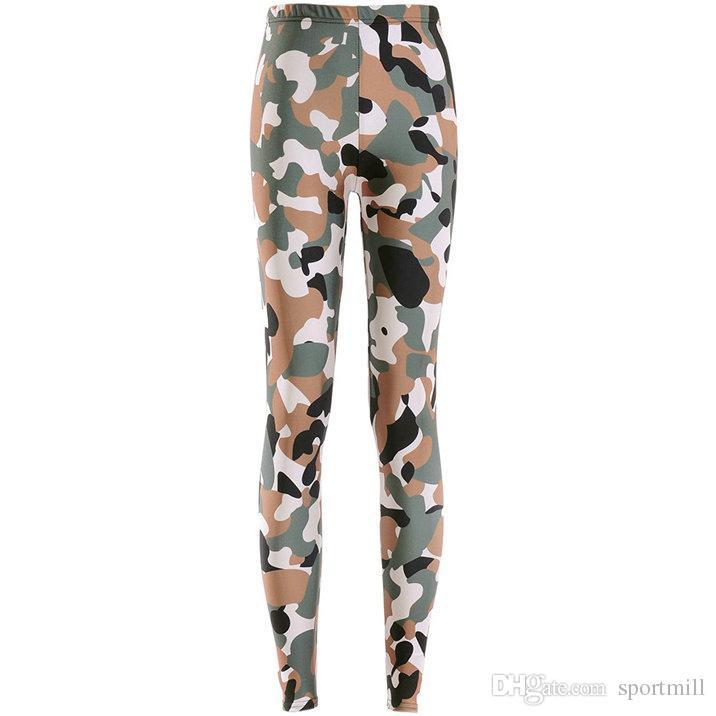 2019 Desert Camo Pants Sand Military Skinny Camouflage Leggings Gym