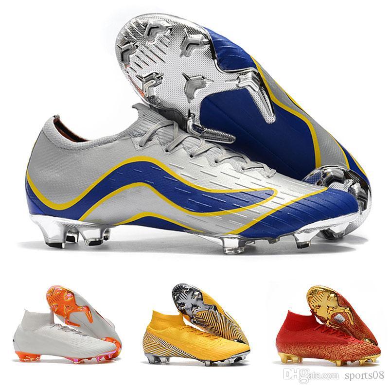 408365ca2855 2019 New Mercurial SuperflyX VI Elite CR7 IC Soccer Shoes Mercurial Superfly  360 Elite FG Soccer Cleats CR7 Cristiano Ronaldo 360 Football Boots From ...