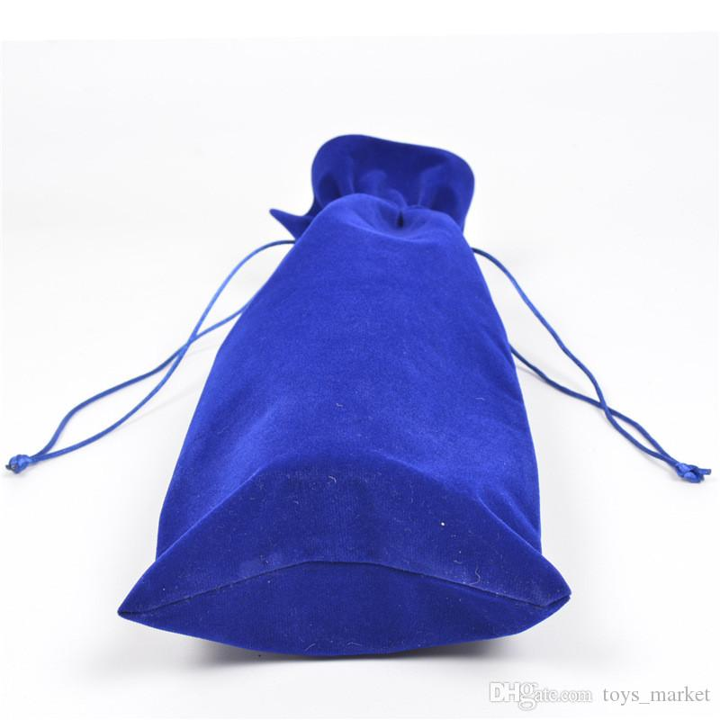 Flannel Wine Bags Champagne Wine Bottle Covers Gift Pouch burlap Packaging bag Wedding Party Decoration Wine Bags Drawstring cover