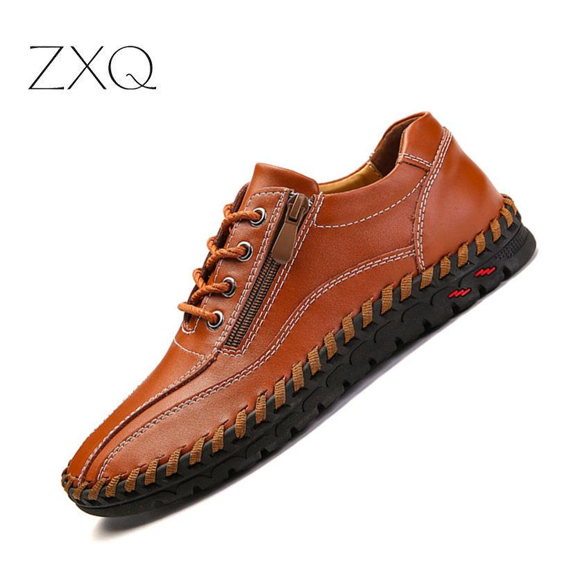 3e0e0b7732684 Plus Size 38-48 Handmade Men Shoes Cowhide Leather Oxford Shoes High  Quality Brand Casual Leather Drop Shipping Oxfords Cheap Oxfords Plus Size  38 48 ...