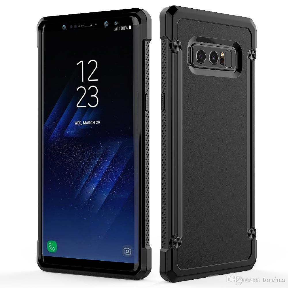 For Samsung S9 S9 Plus Note 8 S8 Phone Shell Air Bag Anti-Scratch Full Protection Cover Frosted Camera Protection Back Cases