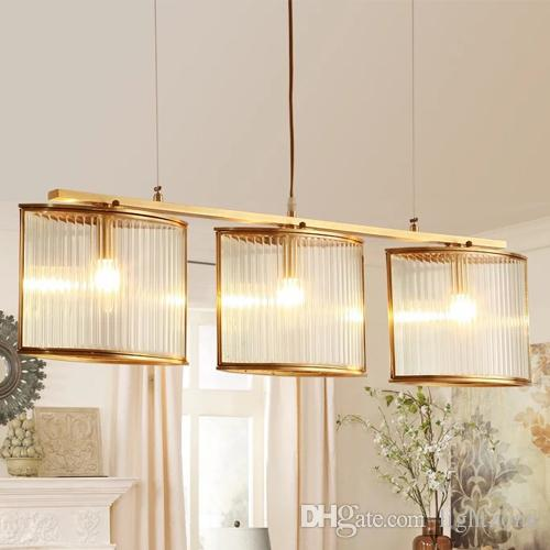 Post Modern Dimmable Led Pendant Chandeliers Lamps New Design Creative Lights Restaurant Villa Dinning Room Duplex Stairs Hotel Glass Light