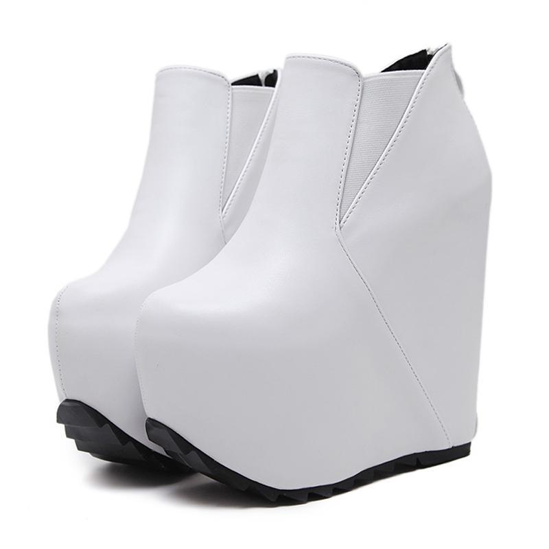 cm hight plate - blanc, forme noir ou blanc, - des bottes automne bottines 577cf9