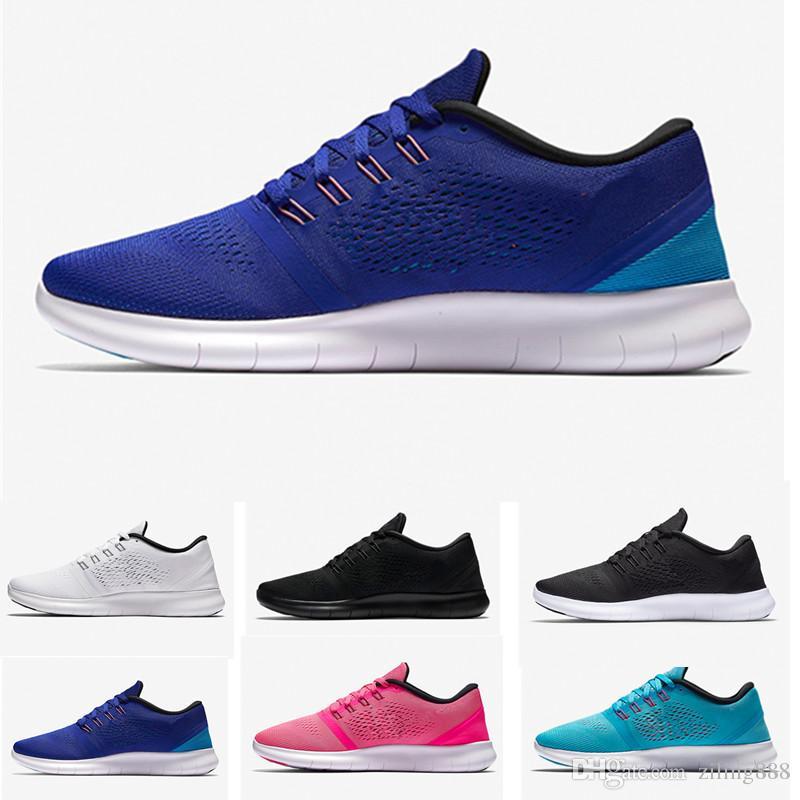 separation shoes 257b6 d0e4e Compre Nike Flyknit Free Run 2.0 3.0 4.0 5.0 Free RN Con Caja 2017 Nuevos  Zapatos Arco Iris Epic React Espuma Tejer Arco Iris Hombres Y Mujeres  Zapatos Para ...