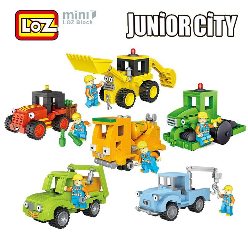 380pcs Truck Crane Engineering Building Blocks Action DIY Figure Toys Gift Kids