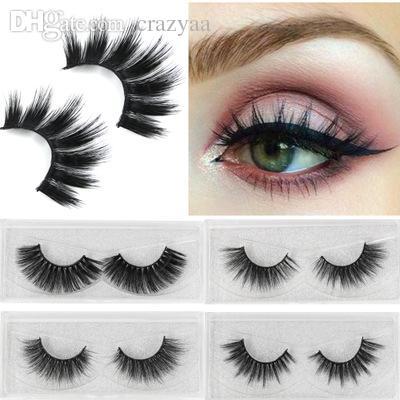 6c6c082dfe6 False Eyelashes 3D Mink Fur Eyelashes Reusable Handmade Natural Lashes Fake  Eyelashes Easy To Apply Tapered Crisscross Mink Lashes Lash Bar Lash  Perfect ...