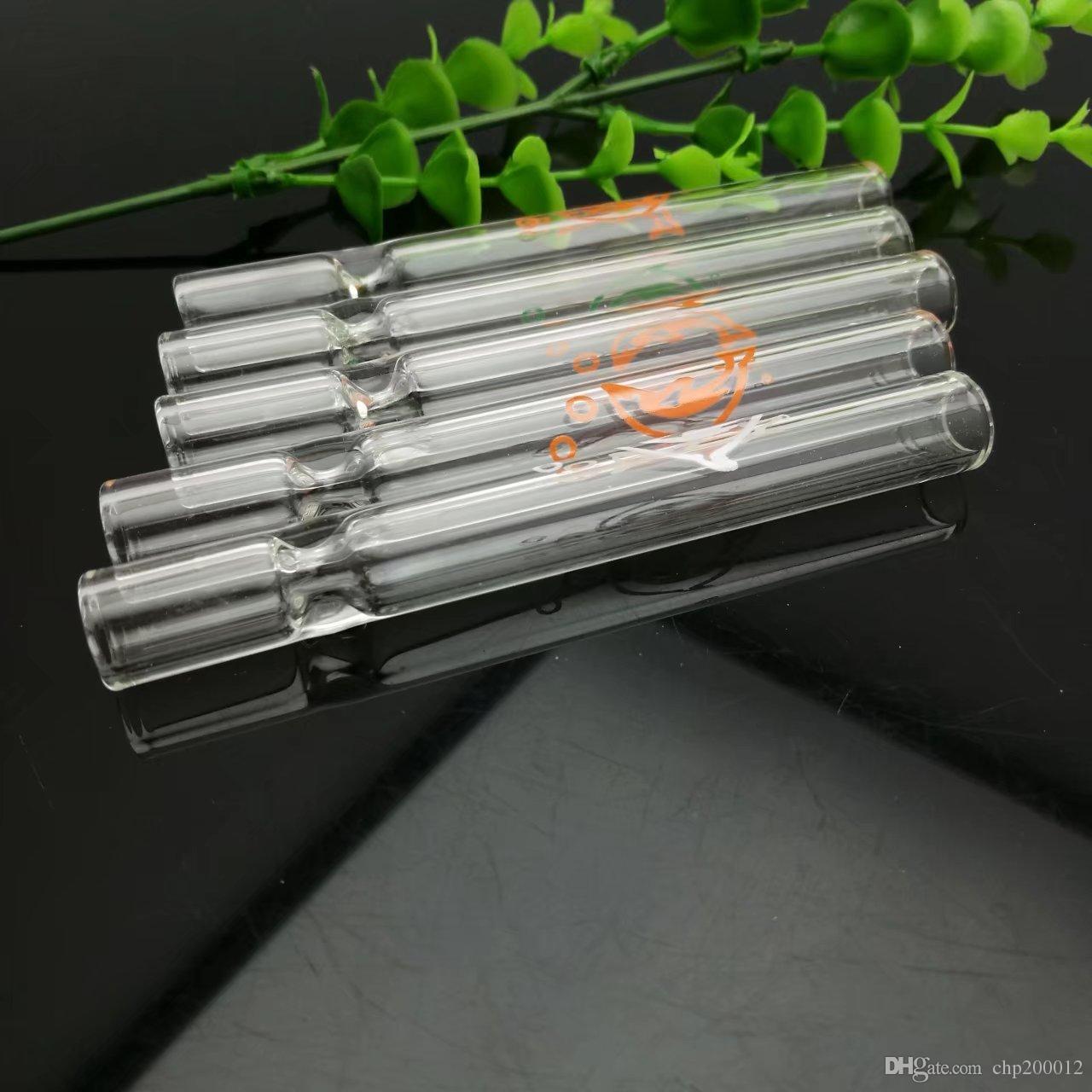 Transparente Delfin Glas saugen Großhandel Glas Bongs Ölbrenner Glas Wasserleitungen Ölplattformen Raucherplattformen