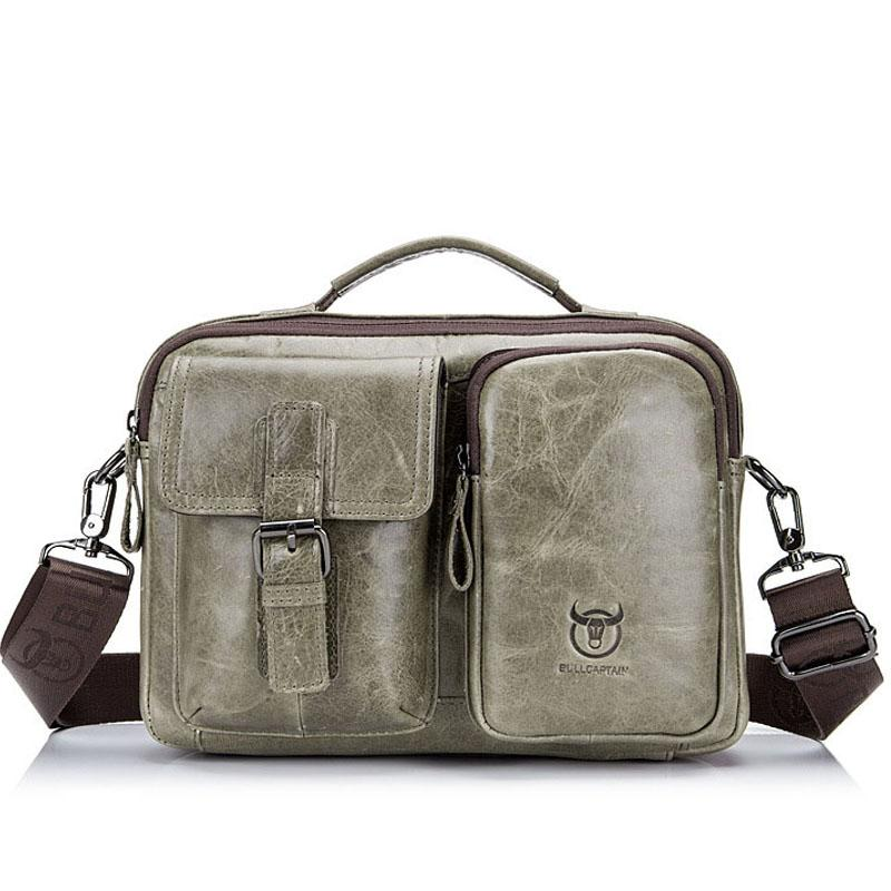 2869a2949e Retro Fashion Genuine Leather Men S Bags Brand New Design Male Shoulder Bag  Hand Business Casual Work Messenger Pack Briefcase Clutch Bags Designer Bags  ...