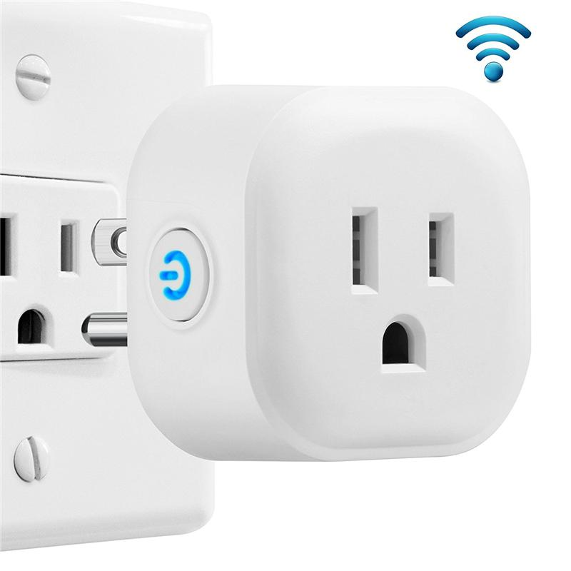 Electrical Sockets Sweet-Tempered Wall Socket Wifi Switch Outlet Panel Uk Plug Electrical Adapter Dual Usb Charger Smart Voice Control