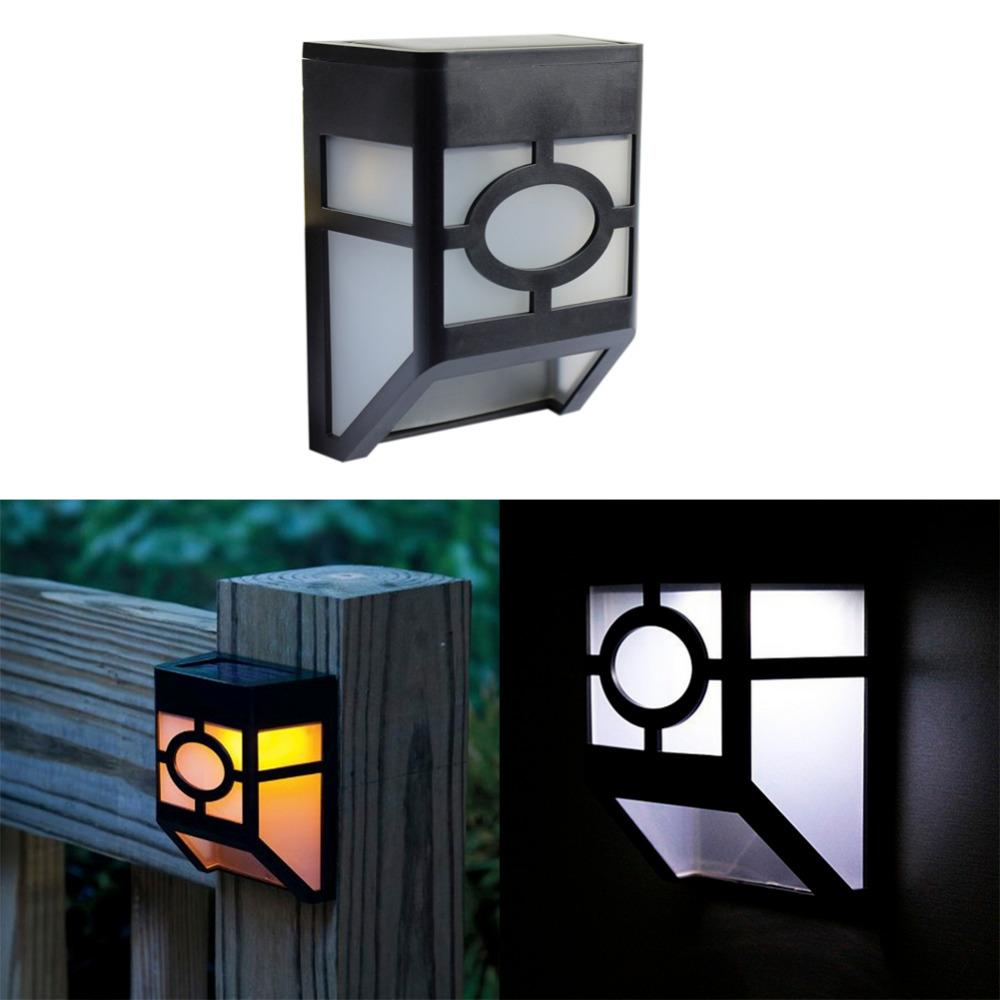 2018 usa stock led solar wall lamp outdoor garden light white warm 2018 usa stock led solar wall lamp outdoor garden light white warm white waterproof home yard fences lights nightlighting decor from jinyucao aloadofball