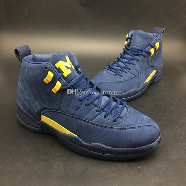 fd044a523c3 2018 12 Michigan NRG PSNY 12S Men's Athletic Casual Shoes Authentic ...