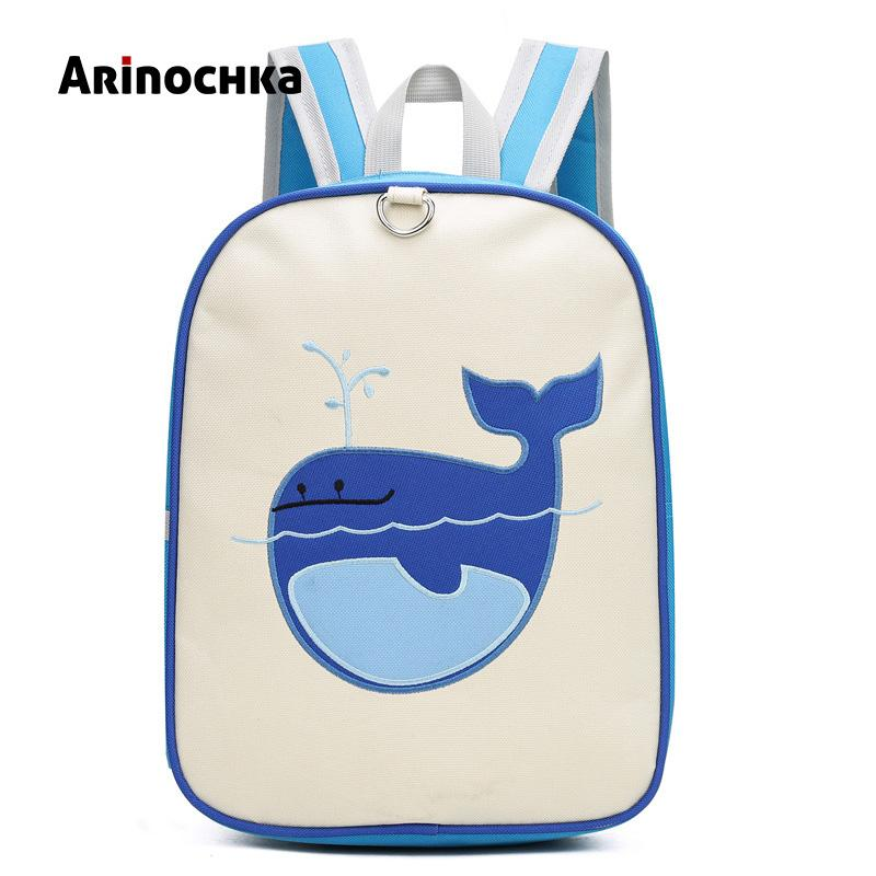 Cartoon Whale Backpack Cute Robot School Bags Puppy School Knapsack Baby  Mochilas Escolares Infantis Children S Backpack Satchel Kids Backpacks Back  Pack ... 431a57f71b3bc