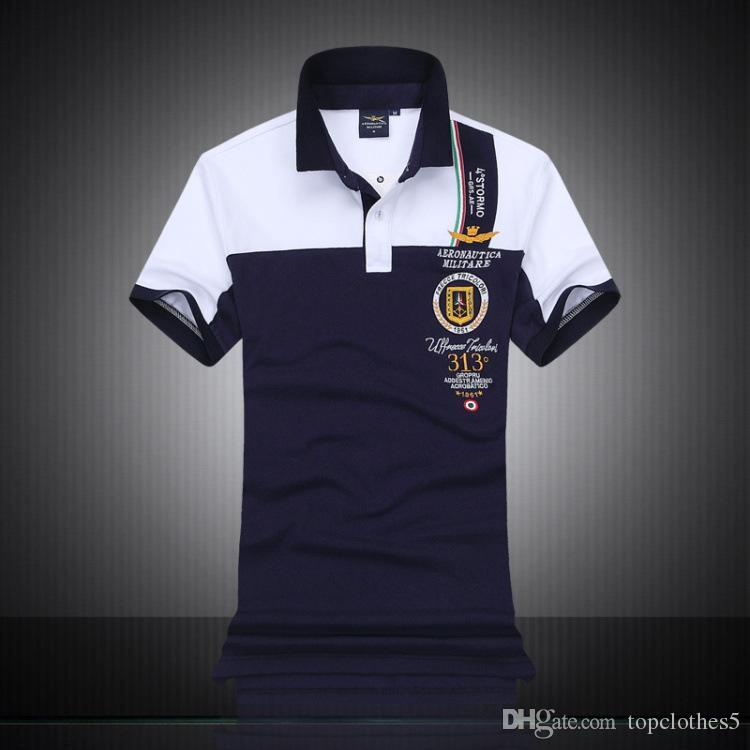 81cd40dfe9d 2019 Hot Italy Designer Polo Shirt T Shirts Luxury Brand Snake Bee Floral  Embroidery Mens Polos High Street Fashion Stripe Print Polo T Shirt From ...