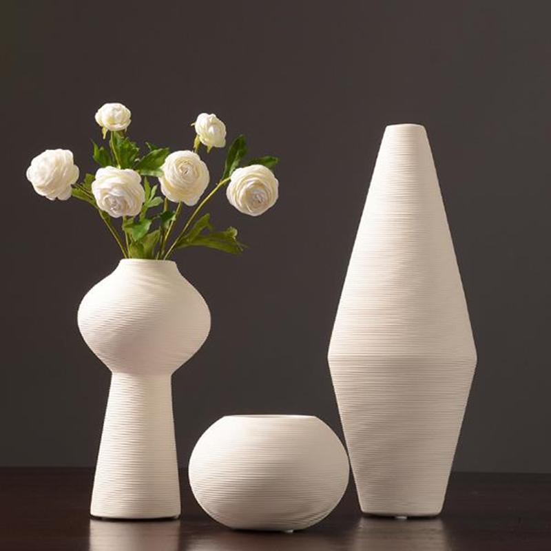 New Chinese Jingdezhen Porcelain Creativity Modern Style White