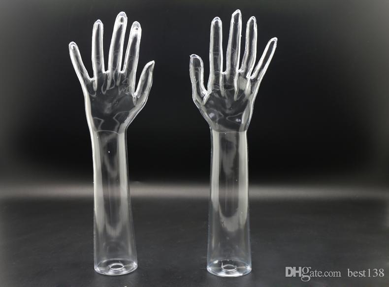 Meilleure qualité mannequin à la main transparente modèle de mode pour l'affichage vente chaude