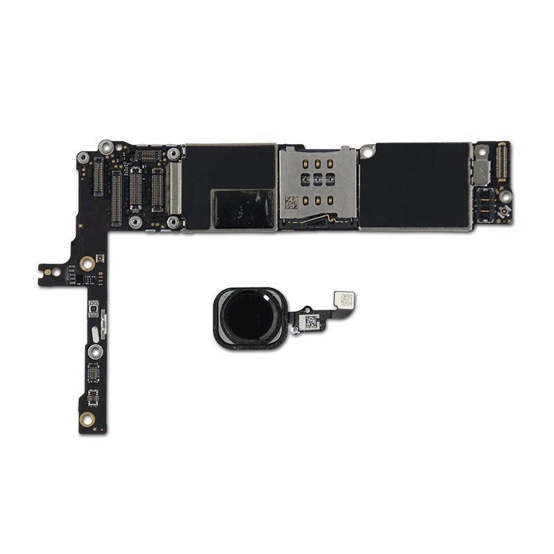 ل iPhone 6 Plus 64GB 5.5inch Factory غير مقفلة اللوحة مع معرف اللمس الأصل IOS تحديث دعم اللوحة الأم 100 ٪ اختبار جيد