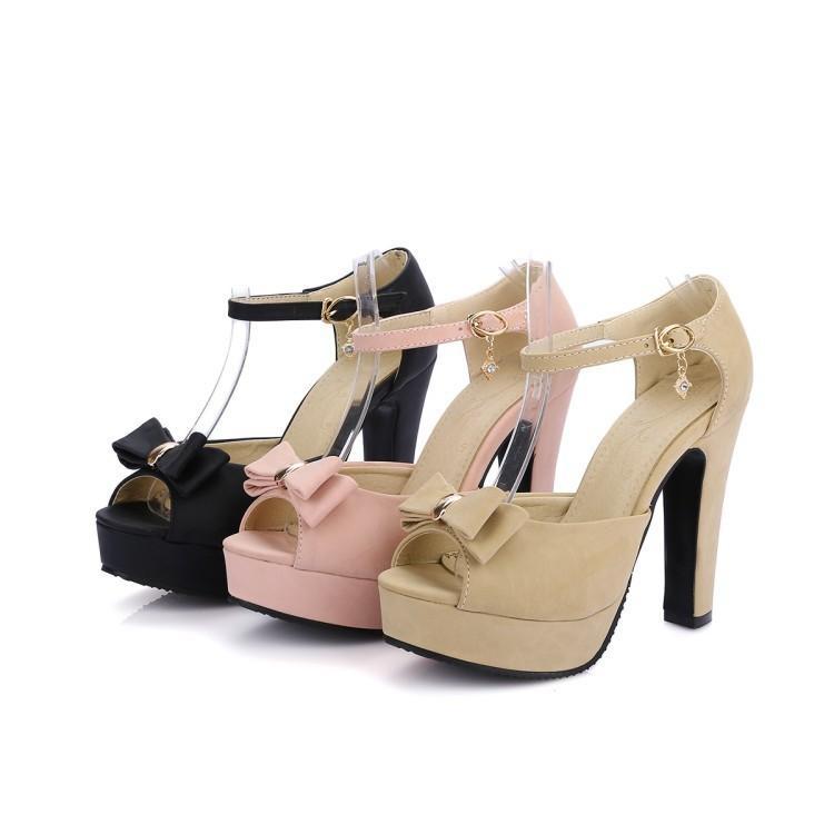 Compre Zapatos De Mujer Tacones Altos 2018 Nuevo Producto Plataforma  Impermeable Boca De Pez Mujer Negro Rosa Sandalias De Color Caqui 31 43  Código 10cm ... 7429aaa30603