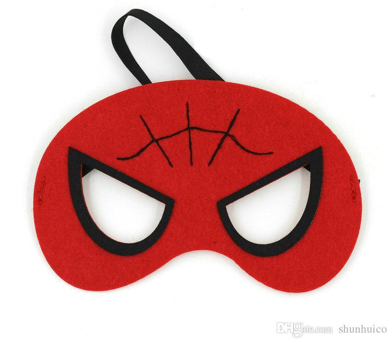Super héros masques enfants super héros fournitures de fête justice ligue anniversaire favors cosplay jouet pour enfants ou garçons parti masque