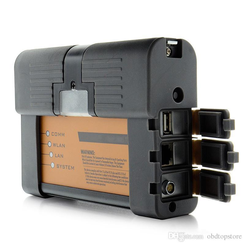 Professional A2 Suporte Wifi !! Por B-MW ICOM A2 B C Full Set ISTA 2.020,01 a melhor qualidade de diagnóstico Ferramenta de interface com Router