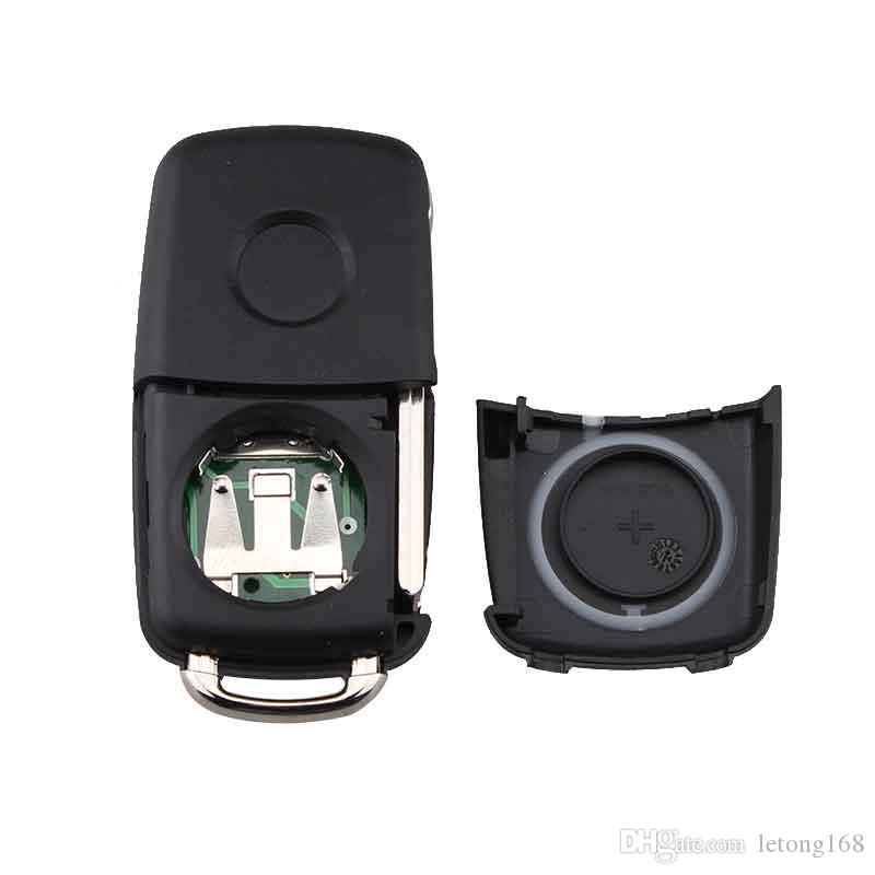 3Buttons 433MHz ID48 Chip Car Remote Key Uncut Blade for VW Volkswagen GOLF PASSAT Tiguan Polo Jetta Beetle 5K0837202AD