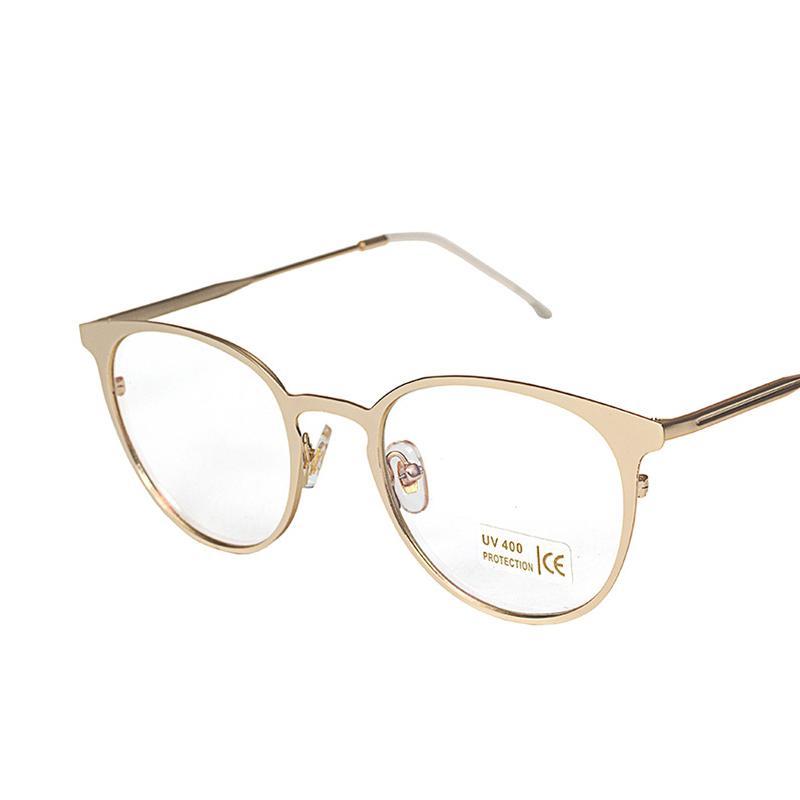 72d111780f6 2019 Cubojue Gold Round Glasses Men Women Fashion Eyeglasses Frame For Myopia  Optical Prescription Spectacles Male Metal Nerd Small From Wonderline2