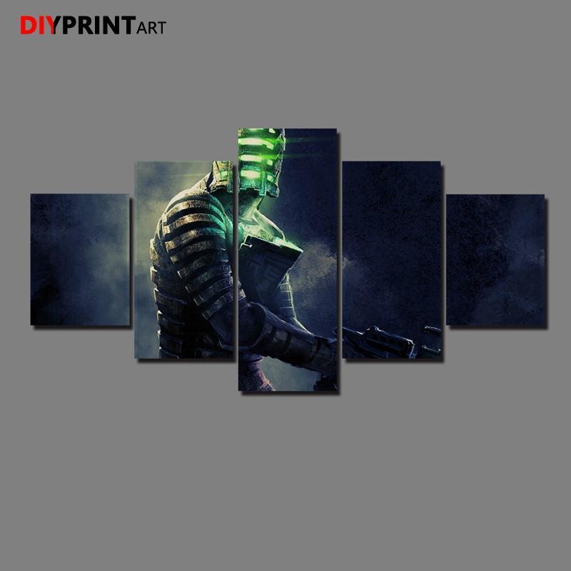 Acquista Dead Space 3 5 Pannello Dipinto Su Tela Immagini A Parete ...
