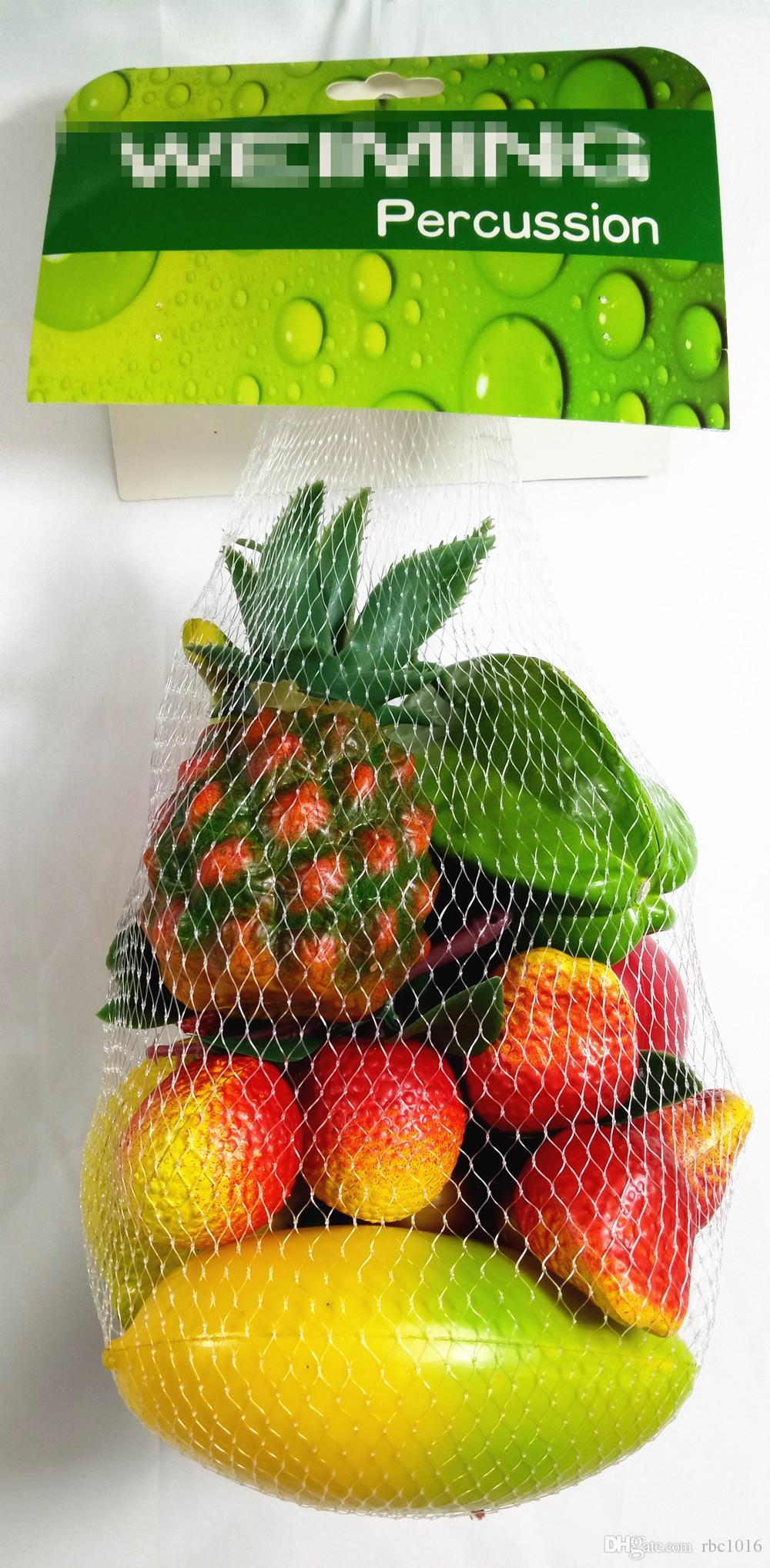 Generic Kids Percusión Instrumento musical Fruit Shaker ABS fabricante de ruido - Mango