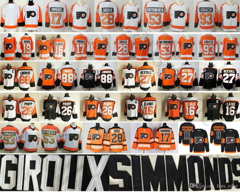 Philadelphia Flyers Wayne Simmonds 28 Claude Giroux 19 Nolan Patrick ... 3d2ee9f73