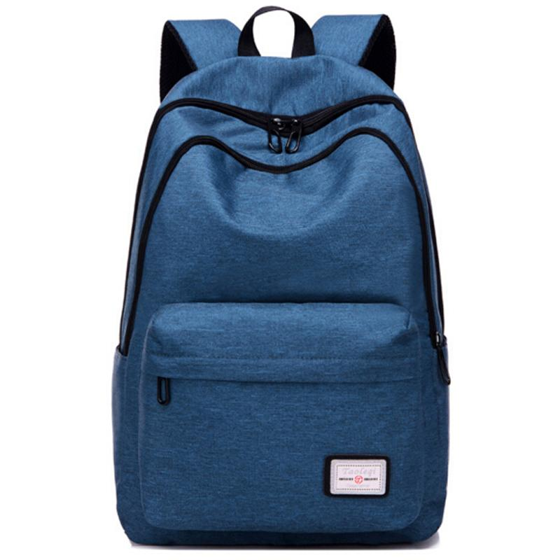 Casual Backpack Boys Girls Canvas Schoolbag Women Men Work Office Travel  Laptop Ipad Shoulder Bag Teenager Daypack Bag Herschel Backpacks Best  Backpacks ... ec6e0cb9fe71a