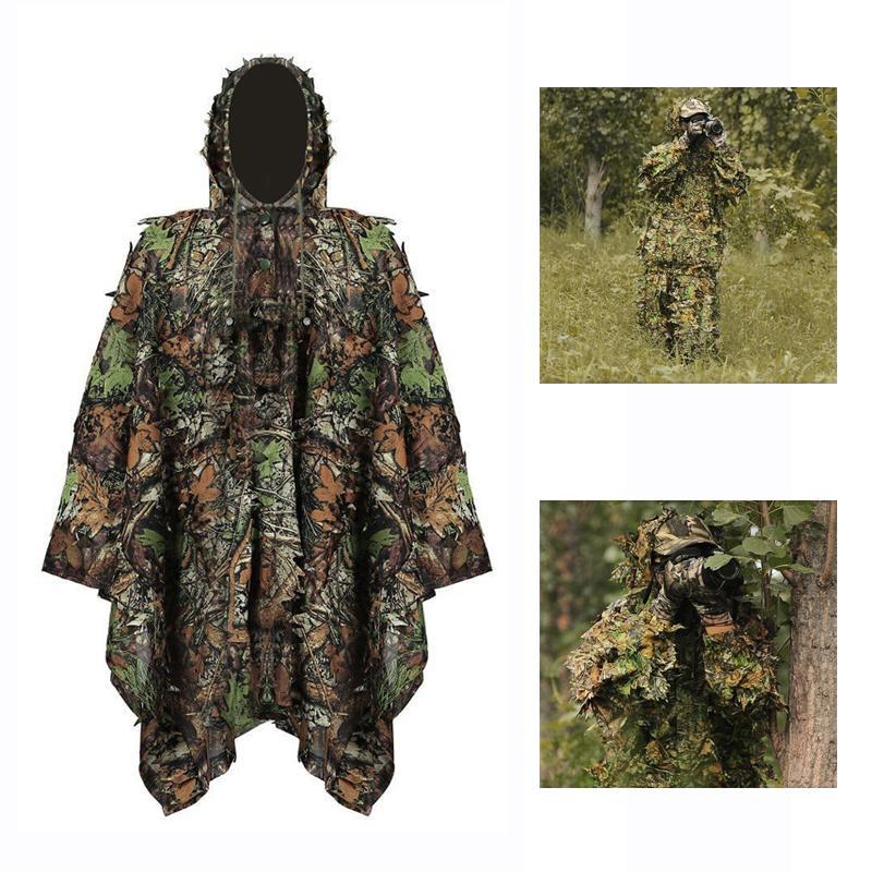 Jagd Kleidung 3d Grünen Camouflage Dschungel Bionic Anzug Set Für Outdoor Jagd Sportbekleidung Sets/garnituren