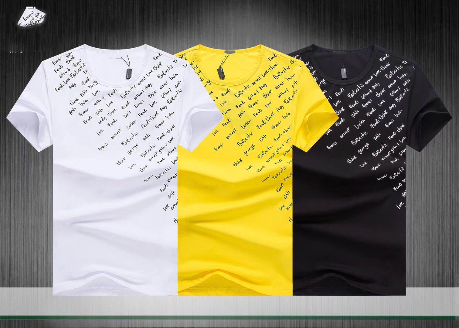 754435cfc 2019 High Quality Men T Shirts 100% Cotton Mens T Shirt Fashion Famous  Brand Tshirts Man Hot Sale M 3XL Awesome T Shirts For Guys Cool Tee Shirt  Designs ...